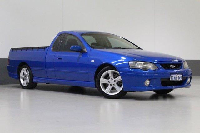 Used Ford Falcon BA MkII XR6T, 2005 Ford Falcon BA MkII XR6T Blue 4 Speed Auto Seq Sportshift Utility