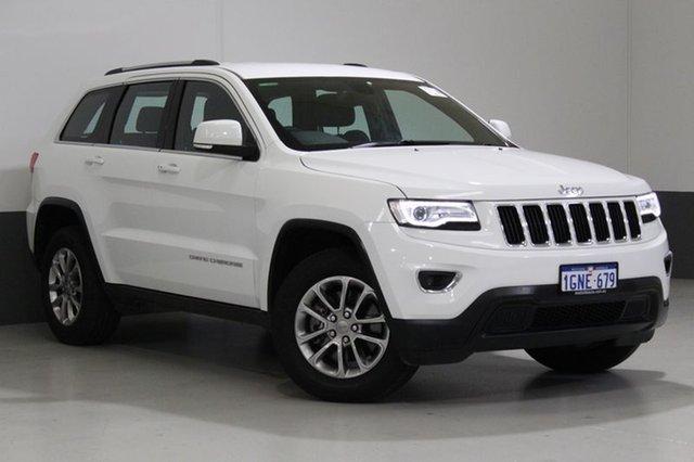 Used Jeep Grand Cherokee WK MY15 Laredo (4x4), 2015 Jeep Grand Cherokee WK MY15 Laredo (4x4) White 8 Speed Automatic Wagon