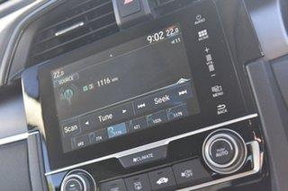 2017 Honda Civic 10th Gen MY17 VTi-L Cosmic Blue 1 Speed Constant Variable Sedan