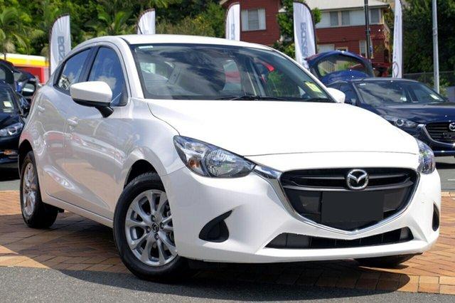 New Mazda 2 DJ2HAA Maxx SKYACTIV-Drive, 2018 Mazda 2 DJ2HAA Maxx SKYACTIV-Drive Snowflake White 6 Speed Sports Automatic Hatchback