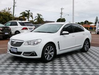 2014 Holden Calais VF MY14 White 6 Speed Sports Automatic Sedan.