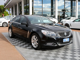 2013 Holden Commodore VF MY14 International Black/Grey 6 Speed Sports Automatic Sedan.