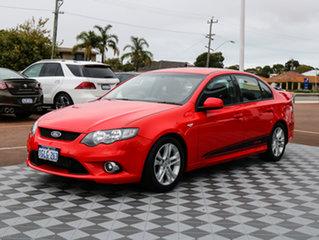 2011 Ford Falcon FG XR6 Turbo Red 6 Speed Sports Automatic Sedan.