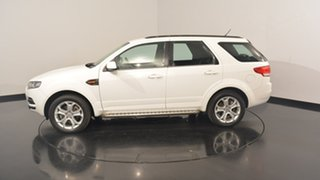 2012 Ford Territory SZ TX Seq Sport Shift RWD Limited Edition White 6 Speed Sports Automatic Wagon.