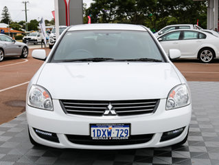 2007 Mitsubishi 380 DB Series 2 ES White 5 Speed Sports Automatic Sedan.