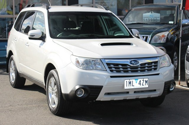 Used Subaru Forester S3 MY12 2.0D AWD, 2012 Subaru Forester S3 MY12 2.0D AWD White 6 Speed Manual Wagon