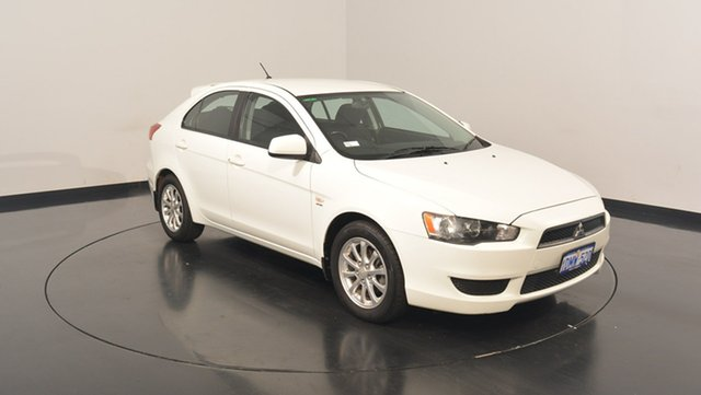 Used Mitsubishi Lancer CJ MY11 SX Sportback, 2010 Mitsubishi Lancer CJ MY11 SX Sportback White Solid 5 Speed Manual Hatchback