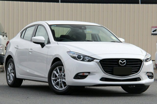 New Mazda 3 BN5278 Maxx SKYACTIV-Drive Sport, 2018 Mazda 3 BN5278 Maxx SKYACTIV-Drive Sport White Pearl 6 Speed Sports Automatic Sedan
