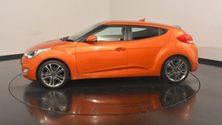 2016 Hyundai Veloster FS4 Series II Coupe D-CT Vitamin C 6 Speed Sports Automatic Dual Clutch.
