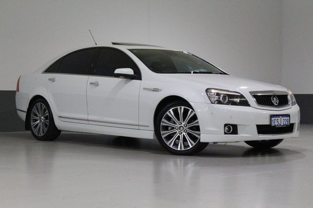 Used Holden Caprice WN MY15 V, 2014 Holden Caprice WN MY15 V Herron White 6 Speed Auto Active Sequential Sedan