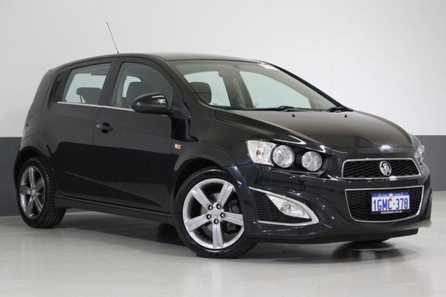 Used Holden Barina TM MY15 RS, 2014 Holden Barina TM MY15 RS Black 6 Speed Automatic Hatchback