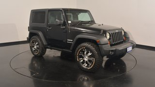 2007 Jeep Wrangler JK Sport Black 6 Speed Manual Softtop