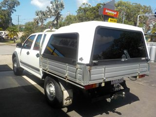 2006 Holden Rodeo RA MY06 Upgrade LX (4x4) White 5 Speed Manual Crew Cab Pickup