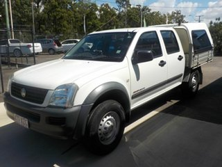 2006 Holden Rodeo RA MY06 Upgrade LX (4x4) White 5 Speed Manual Crew Cab Pickup.