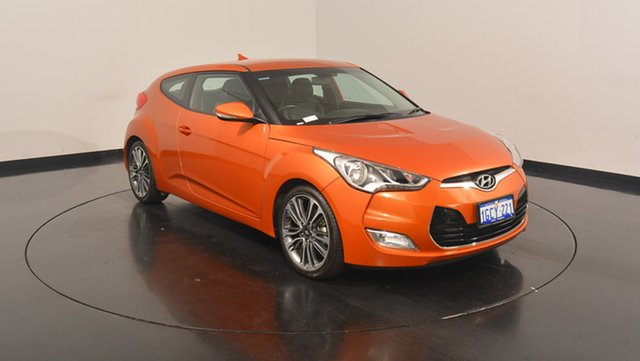 Used Hyundai Veloster FS4 Series II Coupe D-CT, 2016 Hyundai Veloster FS4 Series II Coupe D-CT Vitamin C 6 Speed Sports Automatic Dual Clutch