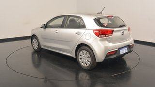 2017 Kia Rio YB MY17 S Silky Silver 4 Speed Sports Automatic Hatchback.