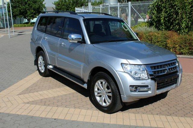 Used Mitsubishi Pajero NX MY15 Exceed, 2015 Mitsubishi Pajero NX MY15 Exceed Silver 5 Speed Sports Automatic Wagon