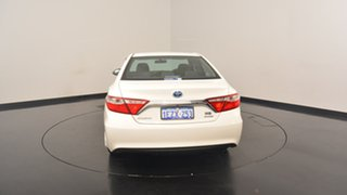 2016 Toyota Camry AVV50R Altise White 1 Speed Constant Variable Sedan