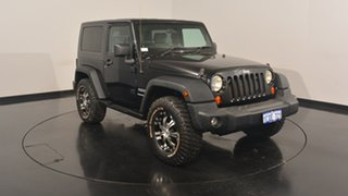 2007 Jeep Wrangler JK Sport Black 6 Speed Manual Softtop.