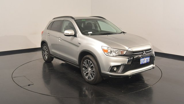 Used Mitsubishi ASX XC MY17 LS 2WD, 2017 Mitsubishi ASX XC MY17 LS 2WD Sterling Silver 6 Speed Constant Variable Wagon