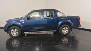 2010 Nissan Navara D40 RX Blue 6 Speed Manual Utility.
