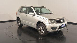 2013 Suzuki Grand Vitara JB MY13 Urban 2WD Silver 5 Speed Manual Wagon.