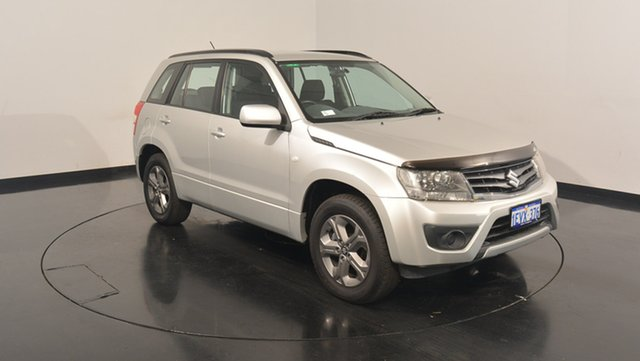 Used Suzuki Grand Vitara JB MY13 Urban 2WD, 2013 Suzuki Grand Vitara JB MY13 Urban 2WD Silver 5 Speed Manual Wagon