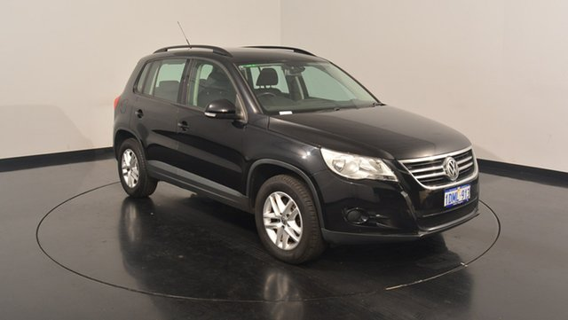 Used Volkswagen Tiguan 5N MY10 125TSI 4MOTION, 2010 Volkswagen Tiguan 5N MY10 125TSI 4MOTION Deep Black Pearl Effect 6 Speed Manual Wagon