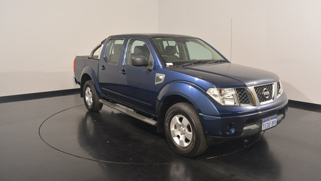 Used Nissan Navara D40 RX, 2010 Nissan Navara D40 RX Blue 6 Speed Manual Utility