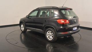 2010 Volkswagen Tiguan 5N MY10 125TSI 4MOTION Deep Black Pearl Effect 6 Speed Manual Wagon.