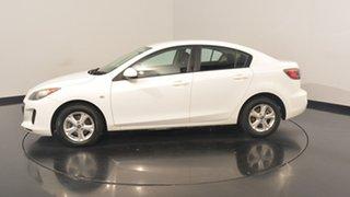 2013 Mazda 3 BL10F2 MY13 Neo White 6 Speed Manual Sedan.