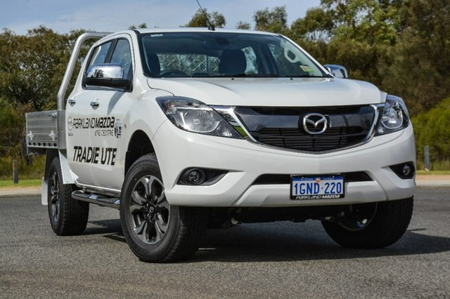 Demo Mazda BT-50 UR0YG1 XTR, 2017 Mazda BT-50 UR0YG1 XTR White 6 Speed Sports Automatic Utility
