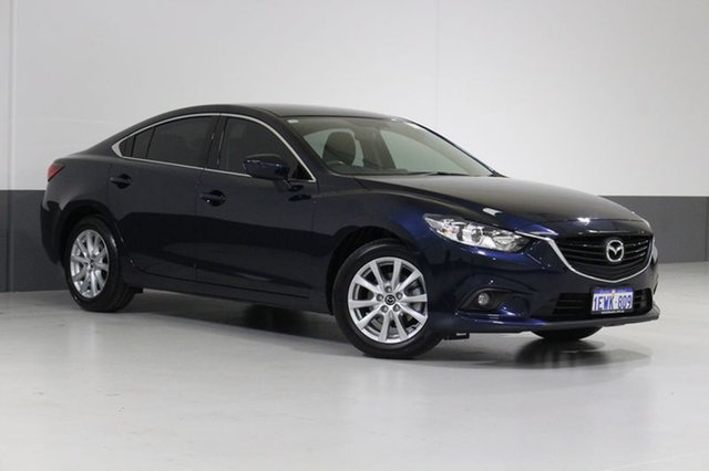 Used Mazda 6 6C MY15 Sport, 2015 Mazda 6 6C MY15 Sport Blue 6 Speed Automatic Sedan