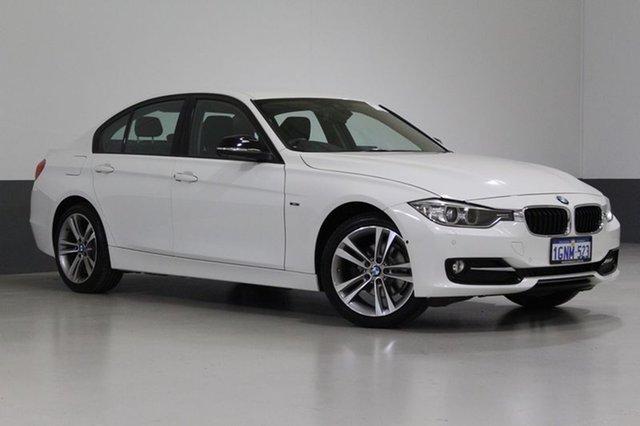 Used BMW 316I F30 MY15 Sport Line, 2015 BMW 316I F30 MY15 Sport Line Alpine White 8 Speed Automatic Sedan