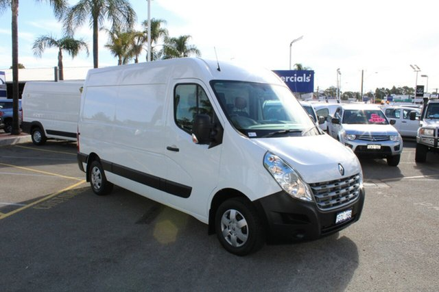 Used Renault Master X62 Mid Roof MWB AMT, 2014 Renault Master X62 Mid Roof MWB AMT White 6 Speed Sports Automatic Single Clutch Van
