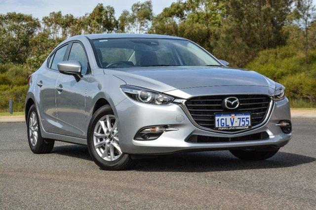 Demo Mazda 3 BN5278 Maxx SKYACTIV-Drive, 2017 Mazda 3 BN5278 Maxx SKYACTIV-Drive Silver 6 Speed Sports Automatic Sedan