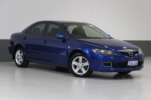Used Mazda 6 GG 05 Upgrade Classic, 2006 Mazda 6 GG 05 Upgrade Classic Blue 5 Speed Auto Activematic Sedan