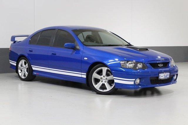 Used Ford Falcon BA MkII XR8, 2005 Ford Falcon BA MkII XR8 Blue 4 Speed Auto Seq Sportshift Sedan
