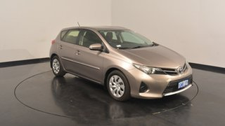 2012 Toyota Corolla ZRE182R Ascent S-CVT Bronze 7 Speed Constant Variable Hatchback.