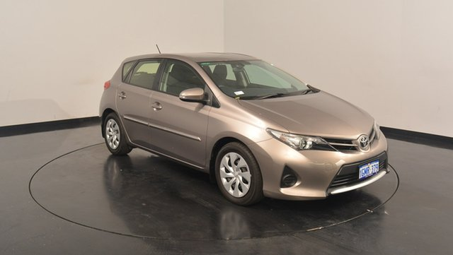 Used Toyota Corolla ZRE182R Ascent S-CVT, 2012 Toyota Corolla ZRE182R Ascent S-CVT Bronze 7 Speed Constant Variable Hatchback