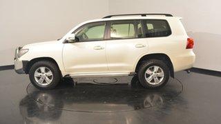 2012 Toyota Landcruiser VDJ200R MY12 Altitude White 6 Speed Sports Automatic Wagon.
