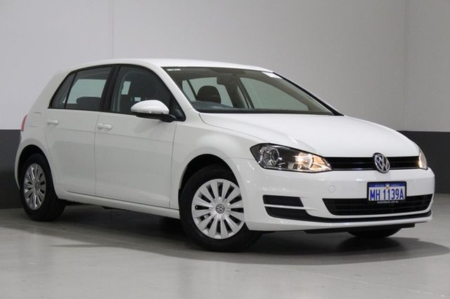 Used Volkswagen Golf AU MY16 92 TSI, 2016 Volkswagen Golf AU MY16 92 TSI White 7 Speed Auto Direct Shift Hatchback