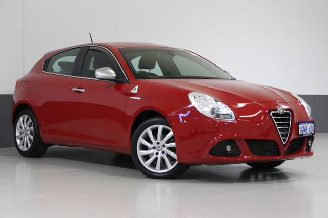 Used Alfa Romeo Giulietta  Progression JTD-M, 2014 Alfa Romeo Giulietta Progression JTD-M Red 6 Speed Auto Dual Clutch Hatchback