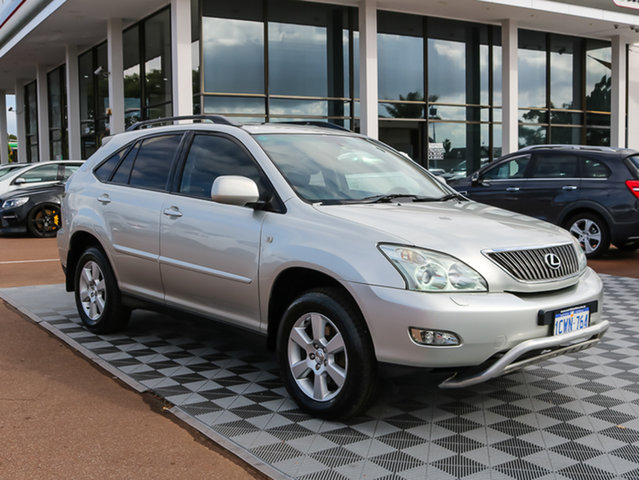 Used Lexus RX330 MCU38R Sports, 2003 Lexus RX330 MCU38R Sports Silver 5 Speed Sports Automatic Wagon