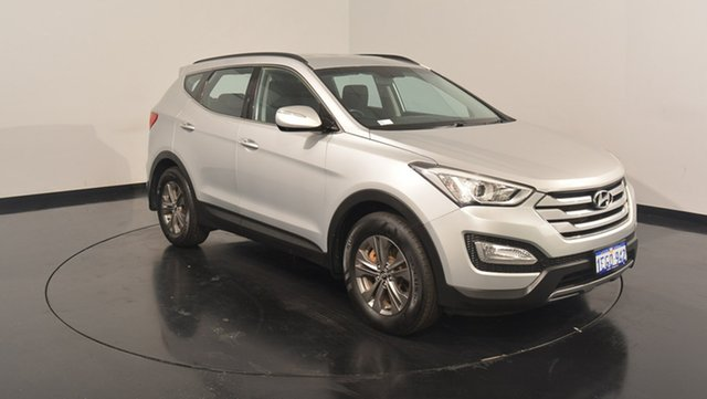 Used Hyundai Santa Fe DM MY13 Active, 2013 Hyundai Santa Fe DM MY13 Active Sleek Silver 6 Speed Sports Automatic Wagon