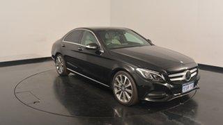 2015 Mercedes-Benz C250 W205 7G-Tronic + Black 7 Speed Sports Automatic Sedan.