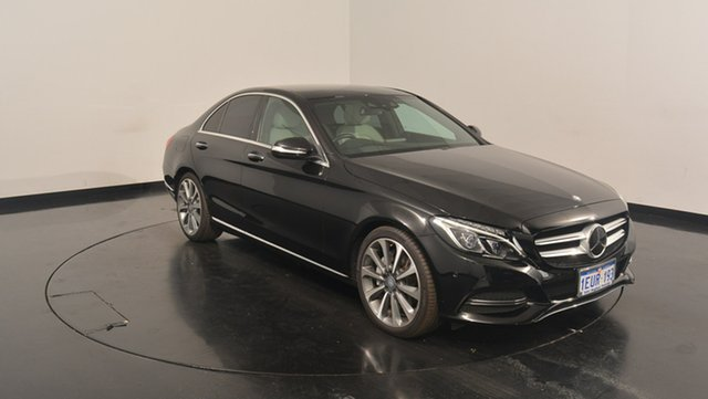 Used Mercedes-Benz C250 W205 7G-Tronic +, 2015 Mercedes-Benz C250 W205 7G-Tronic + Black 7 Speed Sports Automatic Sedan