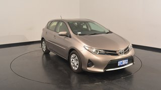 2012 Toyota Corolla ZRE182R Ascent S-CVT Bronze 7 Speed Constant Variable Hatchback