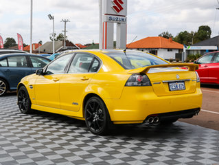 2010 Holden Commodore VE II SS V Redline Yellow 6 Speed Sports Automatic Sedan