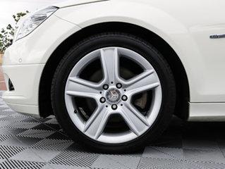 2010 Mercedes-Benz C200 CGI W204 MY10 Classic White 5 Speed Sports Automatic Sedan